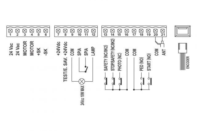 Schema SE24 stuurprint voor gibidi SL544
