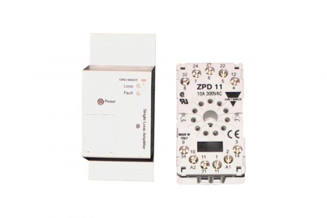 gibidi magnetische lusdetector 1 kanaal 90030