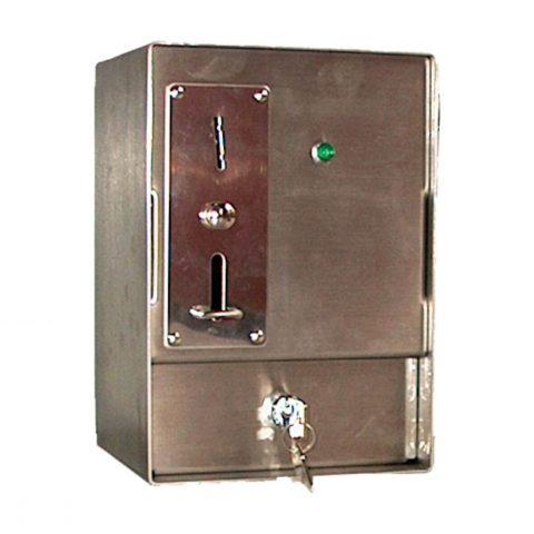 Muntautomaat inox met tijdrelais 90043