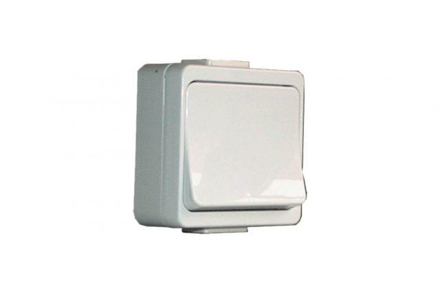 enkelvoudige impuls schakelaar voor binnen, voor het bedienen van elke poort 90502