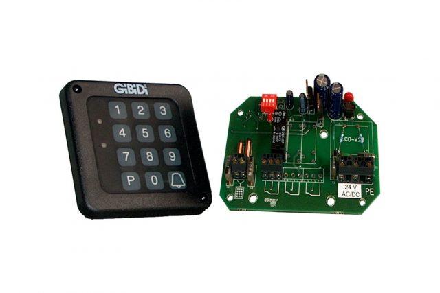 gibidi codeklavier 99008 1 relais 4 codes