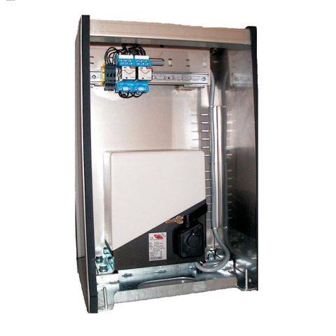 PASS1200-INOX  schuifhekopener in inox kast