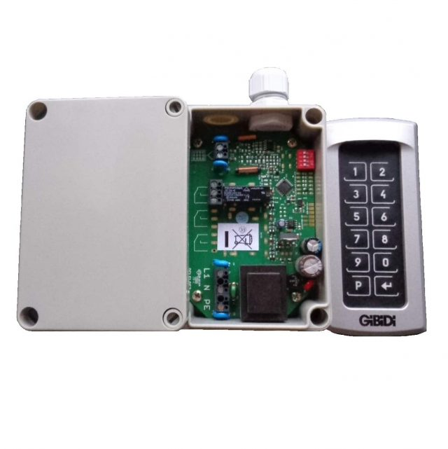 gibidi codeklavier 99002BL-99003BL-99002BL-99102BL met achtergrondverlichting of verlichte toetsen