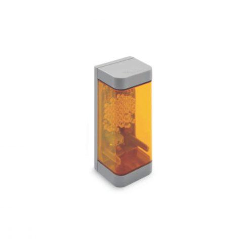 Gibidi geel verkeerslicht met ledverlichting AU02050