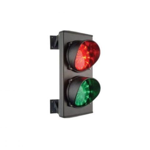 Rood-groen verkeerslicht met LED 24Vdc AU02096