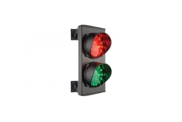 afbeelding rood/groen verkeerslicht AU02096-AU02097