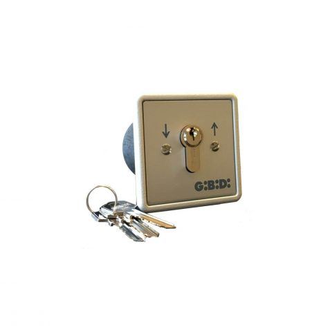 GiBiDi inbouw sleutelcontact 90501