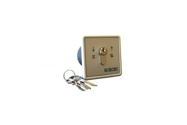 gibidi inbouw sleutelcontact inbouw 90501