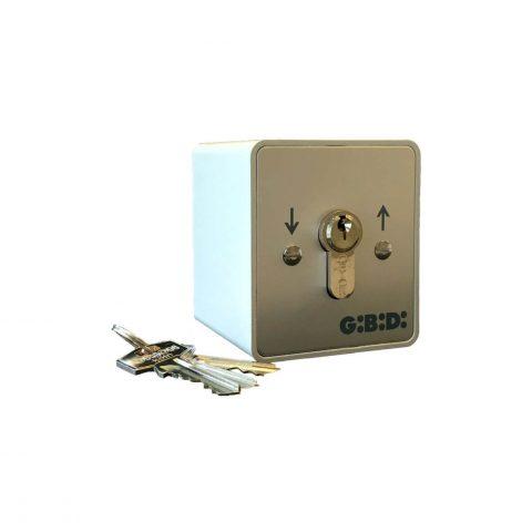 GiBiDi opbouw sleutelschakelaar 90500