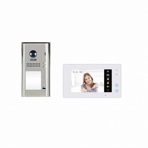 2 draads intercom kit met doorschakeling naar uw smartphone
