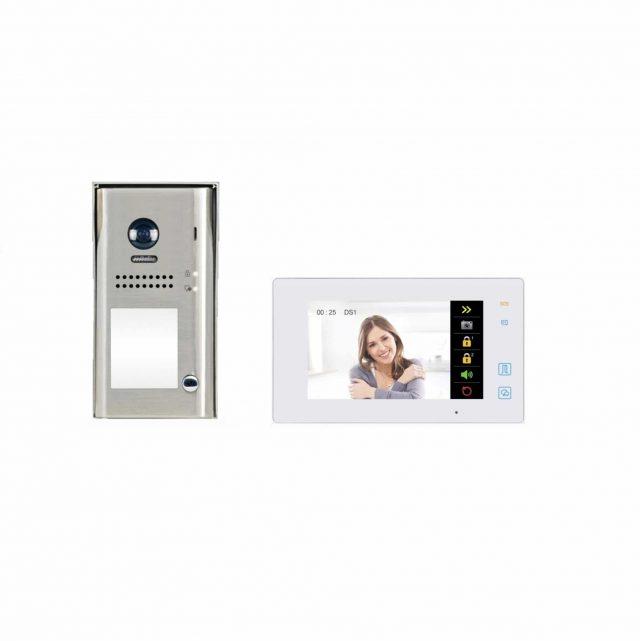 Farfisa 2 draads intrercom kit KIT1SEK-MEW WIFI koppeling voor doorschakelen naar smartphone