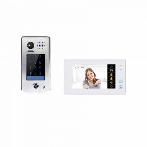 Farfisa videofoonkit met codeklavier en doorschakeling naar uw smartphone