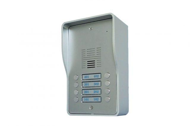 Gsm parlofoon met 8 oproepknoppen GSMP3G-8-2