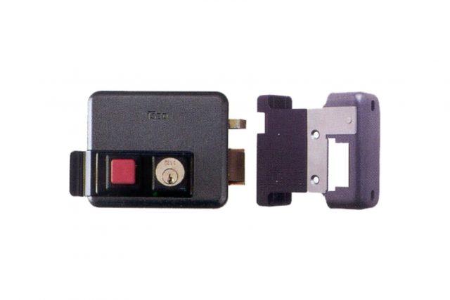 elektrisch slot iseo met drukknop ISG10605