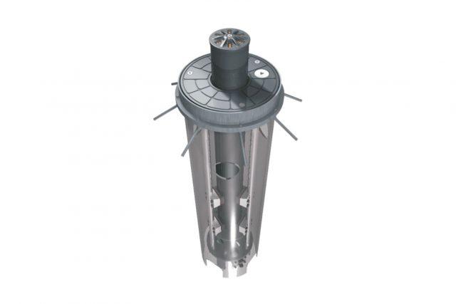 fundatiekast voor gibidi verkeerspaal met diameter 127 mm 85002