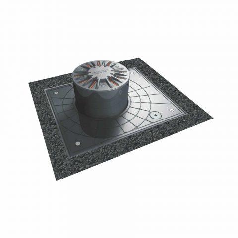 Gibidi hydraulische verkeerspaal diameter 120mm TOUCHE126
