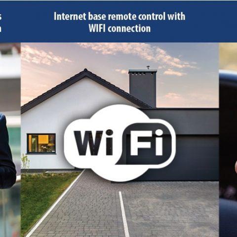 WIFIDOOR poortopeners met gratis APP voor de smartphone