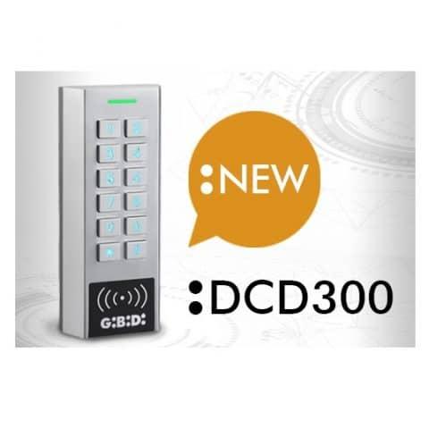 Codeklavier met kaartlezer, 2 relais, 999 codes AU02201